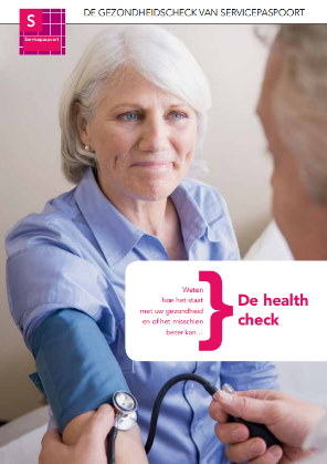gezondheidstest voorkant folder